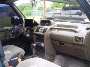 Interior photo of 1998 Costa Rica Mitsubishi Montero