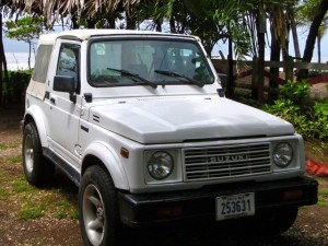 "Suzuki Samurai 1988 - Great if your motto is ""Life's a Beach!"""