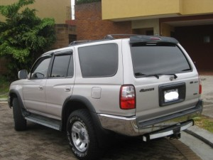 Used Cars in Costa Rica Toyota 4runner 1999 rear view