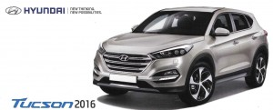 The new Tucson is larger, our clients chose the Prestige version.