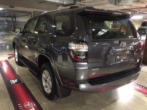 2019 4runner, rear view