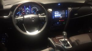2019 Toyota Fortuner Instrument Panel, limited edition
